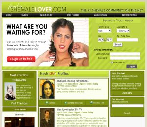 Shemale dating sites free